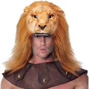 Underwraps Costumes Adult Animals Head Lion Costume