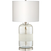 Pacific Coast Moderne 24.5 in. Glass Table Lamp