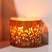 Bath & Body Works Luminary Woods: 3 Wick Candle Leaves
