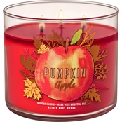 Bath & Body Works Pumpkin Pumpkin Apple 3 Wick Candle