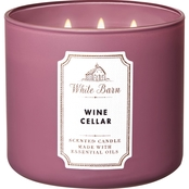 Bath & Body Works White Barn: 3 Wick Candle - Wine Cellar