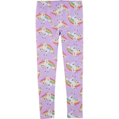 Carter's Little Girls Unicorn Leggings