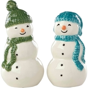 Lenox Balsam Lane Snowman Salt and Pepper Set