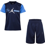 Jordan Little Boys Tee and Knit Shorts 2 pc. Set