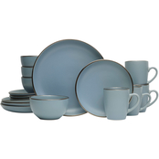 Pfaltzgraff Hadlee Blue 16 Pc. Dinnerware Set