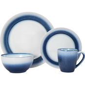 Pfaltzgraff Eclipse Blue 16 Pc. Dinnerware Set