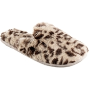 totes isotoner women's faux fur fey scuff