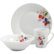 Gibson Home Vintage Rose 12 pc. Dinnerware Set