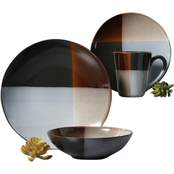 Convergence Dinnerware Set Grey