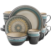 Gibson Elite Amberdale 16 pc. Dinnerware Set