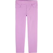 OshKosh B'gosh Toddler Girls 5 Pocket French Terry Jeggings