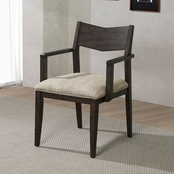Furniture of America Meridian Dining Arm Chair