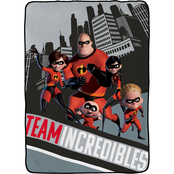 The Incredibles 2 Racing Blanket