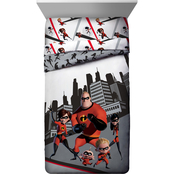 The Incredibles 2 Racing Twin Comforter