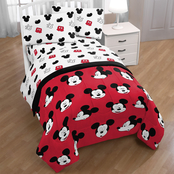 Mickey Mouse Cute Faces Full Bed Set