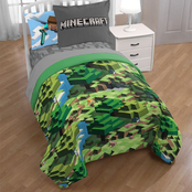 Minecraft Day & Night Full Bed Set
