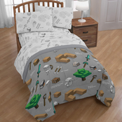 Minecraft Survive Full Bed Set
