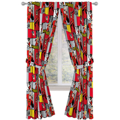 Incredibles 2 Super Family 63 x 42 Drapes