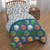 Minecraft Isometric Full Bed Set
