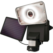 Solar Powered Security Video Camera and Floodlight