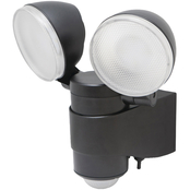 Battery Powered Motion Activated Dual Head LED Security Spotlight
