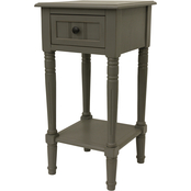Decor Therapy Simplify 1 Drawer Accent Table