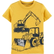 Carter's Toddler Boys Construction Knit Tee
