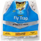 PIC - Raid 3pk Disposable Fly Trap with Lure