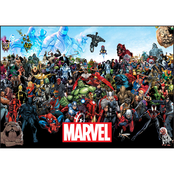 Marvel Universe 3D Framed Art