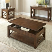 Steve Silver Lenka Lift Top Coffee Table with Casters
