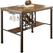 Steve Silver Rebecca Wine Storage Counter Table