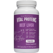 Vital Proteins Beef Liver Capules, 120 ct.