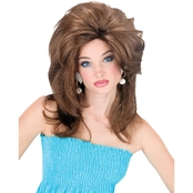 Fun World Women's Midwest Momma Wig