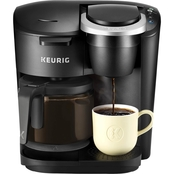 KEURIG K-DUO SINGLE SERVE AND CARAFE COFFEE MAKER