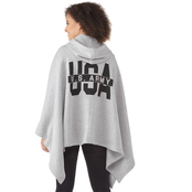 USA Army Fleece Amanda Poncho