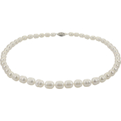Imperial 5.5-9.5mm Graduated Cultured Pearl 18 in. Necklace