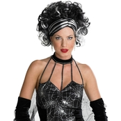 Wicked Widow Wig Black/White