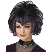 Seasonal Visions Adult Goth Flip Wig