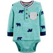 OshKosh B'gosh Infant Boys Bear Bodysuit
