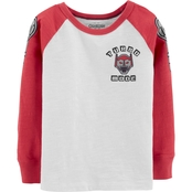 OshKosh B'gosh Toddler Boys Turbo Raglan Tee