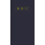 TF Publishing Bold Moves Collection Navy Address Book