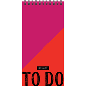 TF Publishing Bold Moves Collection Bold To Do Daily Agenda Planner