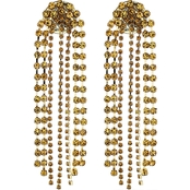 Panacea Pave Baubles Chandelier Earrings