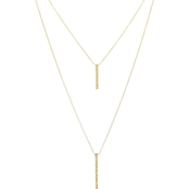 Panacea Baubles Layered Stick Necklace