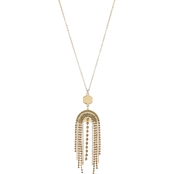 Panacea Baubles Fringe Necklace