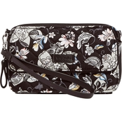 Vera Bradley All In One Crossbody, Holland Garden
