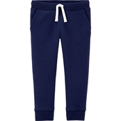 OshKosh B'gosh Toddler Girls Logo Fleece Pants