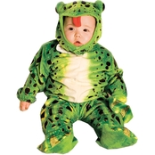 Underwraps Costumes Infant Green Frog Costume 6m-12m
