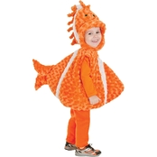 Underwraps Costumes Toddler Big Mouth Clown Fish Costume 2T-4T