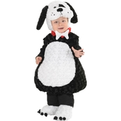 Underwraps Costumes Toddler Black White Puppy Costume 2-4 Months